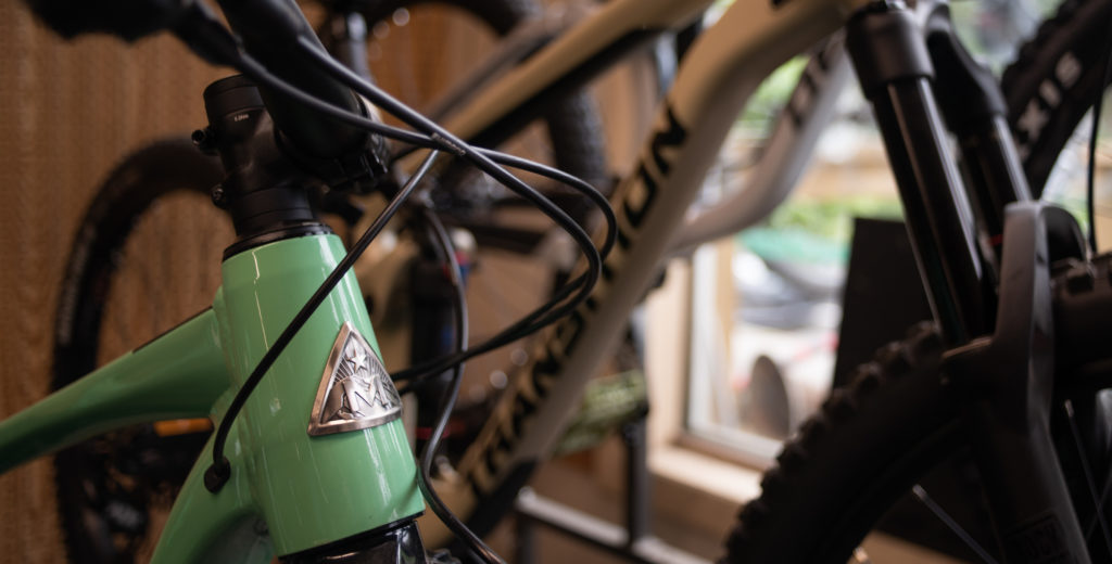 Marin and transition bikes located at Chuck's Bikes VT